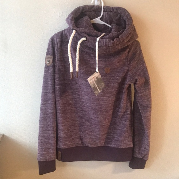 Details zu Naketano Glitzermuschi V Damen Sweatshirt